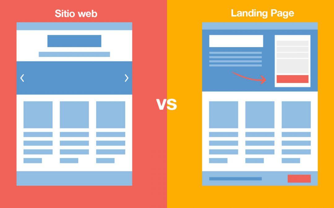 Diferencias entre una página en Facebook y un sitio web