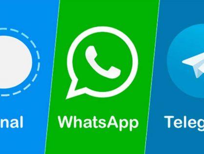 WhatsApp, Telegram o Signal: ¿quién es quién en las apps de mensajería?